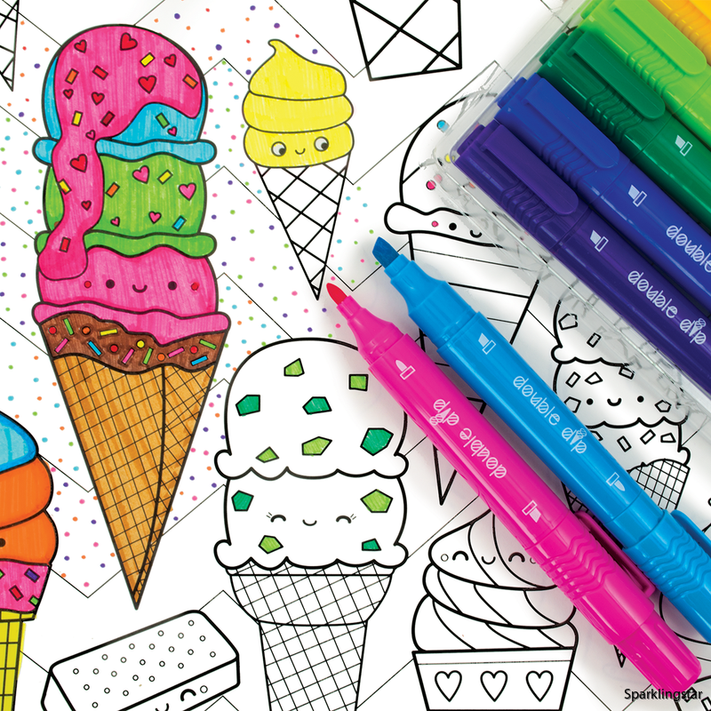 Ooly Double Dip Ice Cream Scented Markers