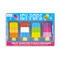 Ooly Icy Pops Scented Puzzle Eraser