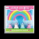 Ooly Unique Unicorns Strawberry Scented Erasers - Ooly Unique Unicorns Strawberry Scented Erasers