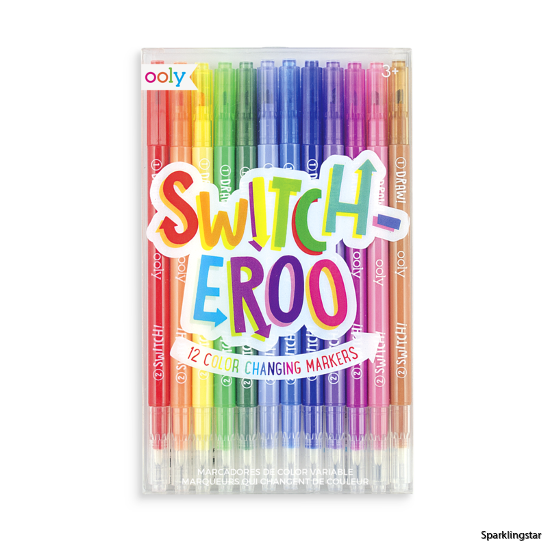 Ooly Switch Eroo Color Changing Markers