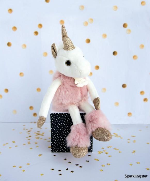 Histoire d'Ours Licorne Glitter Unicorn