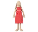 Maileg Bunny Size 3 Red Dress - Maileg Bunny Size 3 Red Dress