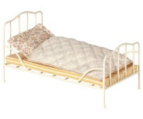 Maileg Vintage Bed Mini Off White