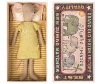 Maileg Medium Mouse In Box Girl