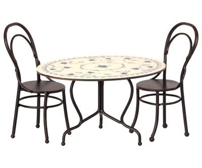 Maileg Dining Table Set Mini - Maileg Dining Table Set Mini