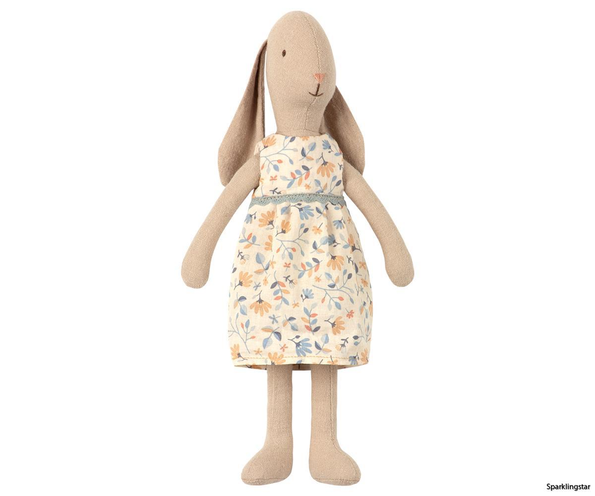 Maileg Bunny Size 1 Flower Dress