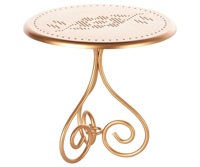 Maileg Coffee Table Gold - Maileg Coffee Table Gold
