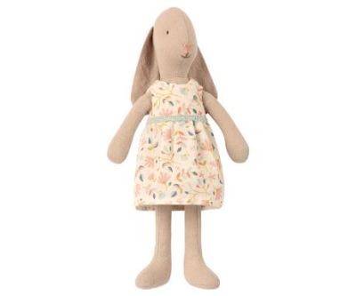 Maileg Bunny Size 2 Flower Dress - Maileg Bunny Size 2 Flower Dress
