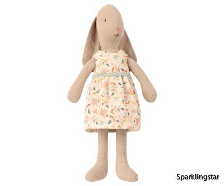 Maileg Bunny Size 2 Flower Dress