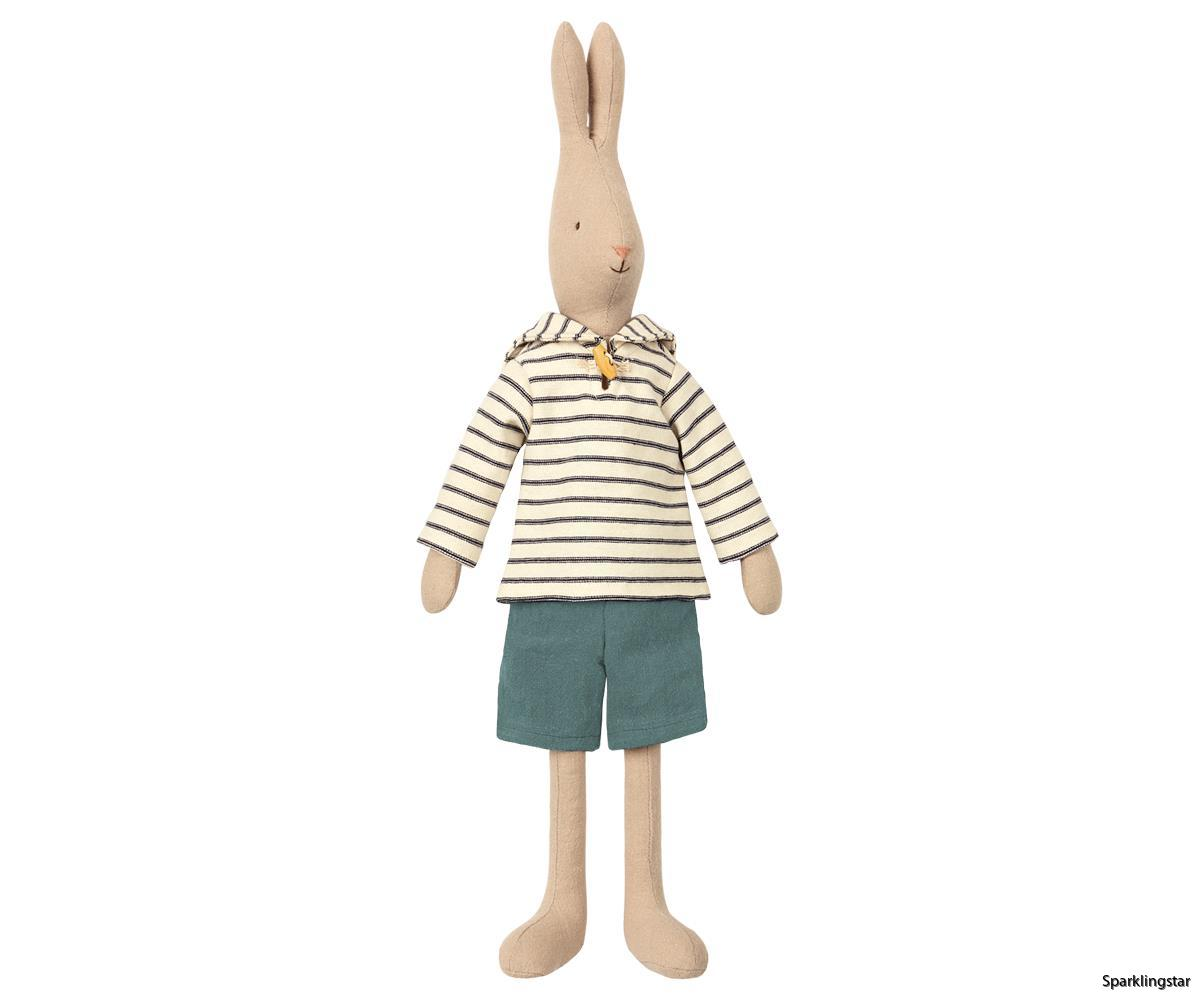 Maileg Rabbit Size 3 Sailor Off White