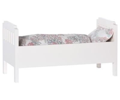 Maileg Bed Small Off White - Maileg Bed Small Off White