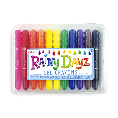 Ooly Rainy Dayz Gel Crayons - Ooly Rainy Dayz Gel Crayons