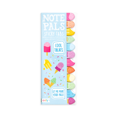 Ooly Note Pals Sticky Tabs Cool Treats - Ooly Note Pals Sticky Tabs Cool Treats