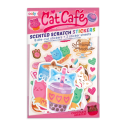 Ooly Cat Cafe Scented Stickers - Ooly Cat Cafe Scented Stickers