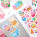 Ooly Cat Cafe Scented Stickers