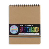 Ooly White Diy Cover Sketchbook