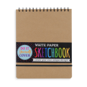 Ooly White Diy Cover Sketchbook - Ooly White Diy Cover Sketchbook ( Stor )