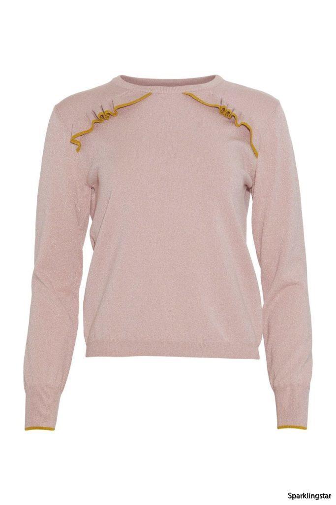 Rue De Femme Rafa Knit  Pink