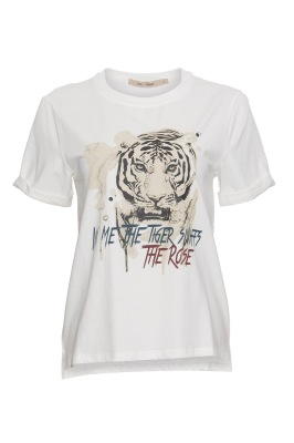 Rue De Femme Tiger Tee - Rue De Femme Tiger Tee ( Storlek Xs )