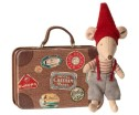 Maileg Christmas Mouse In Suitcase Little Brother - Maileg Christmas Mouse In Suitcase Little Brother