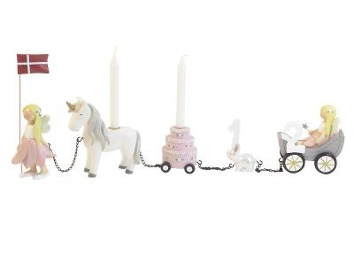 Kids By Friis Födelsedagståg Unicorn - Kids By Friis Födelsedagståg Unicorn