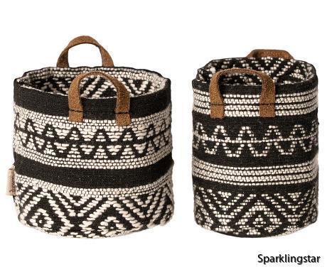 Maileg Miniature Baskets 2 Peace
