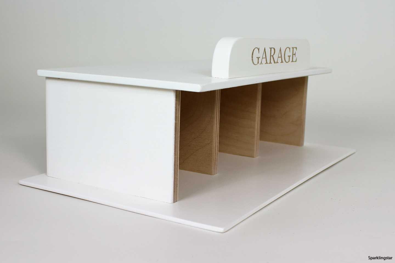 Kalikå  Garage Vit