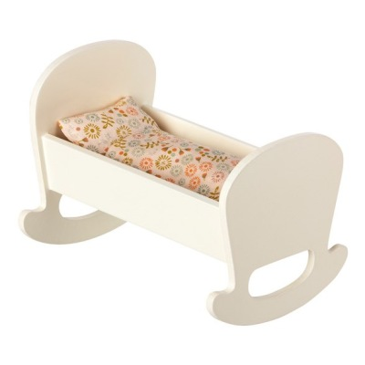 Maileg Cradle For Baby Mouse - Maileg Cradle For Baby Mouse