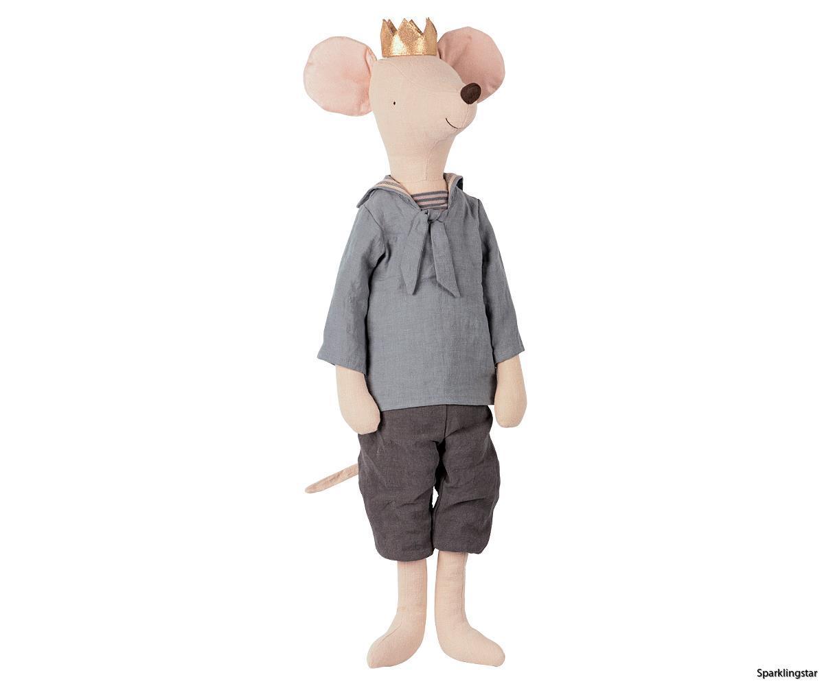 Maileg Mega Mouse Prince