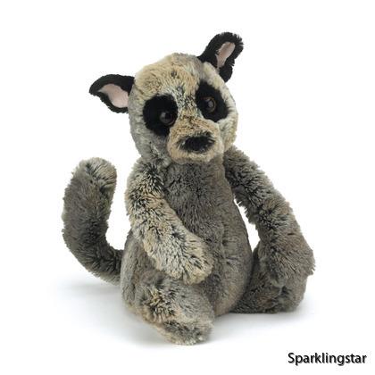 Jellycat Bashful Tvättbjörn