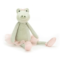 Jellycat Dancing Darcey Alligator