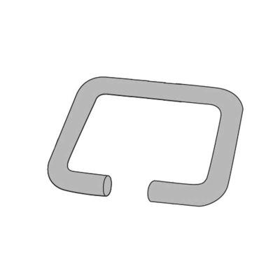LEANDER CLASSIC™ VUGGE, FIRKANTET RING (#8) - LEANDER CLASSIC™ VUGGE, FIRKANTET RING (#8)