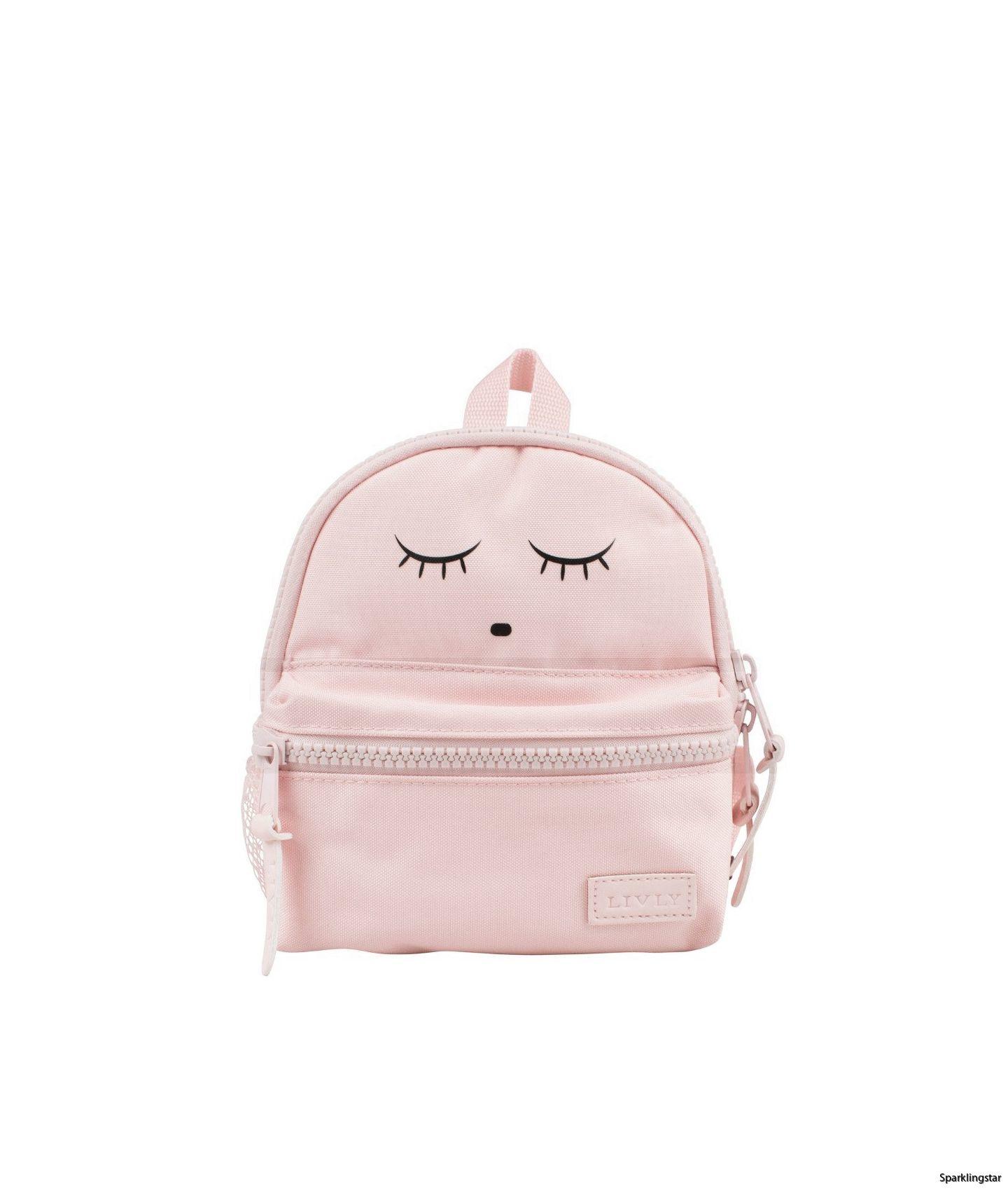 Livly Backpack Pink Sleeping Cutie ( Mini)