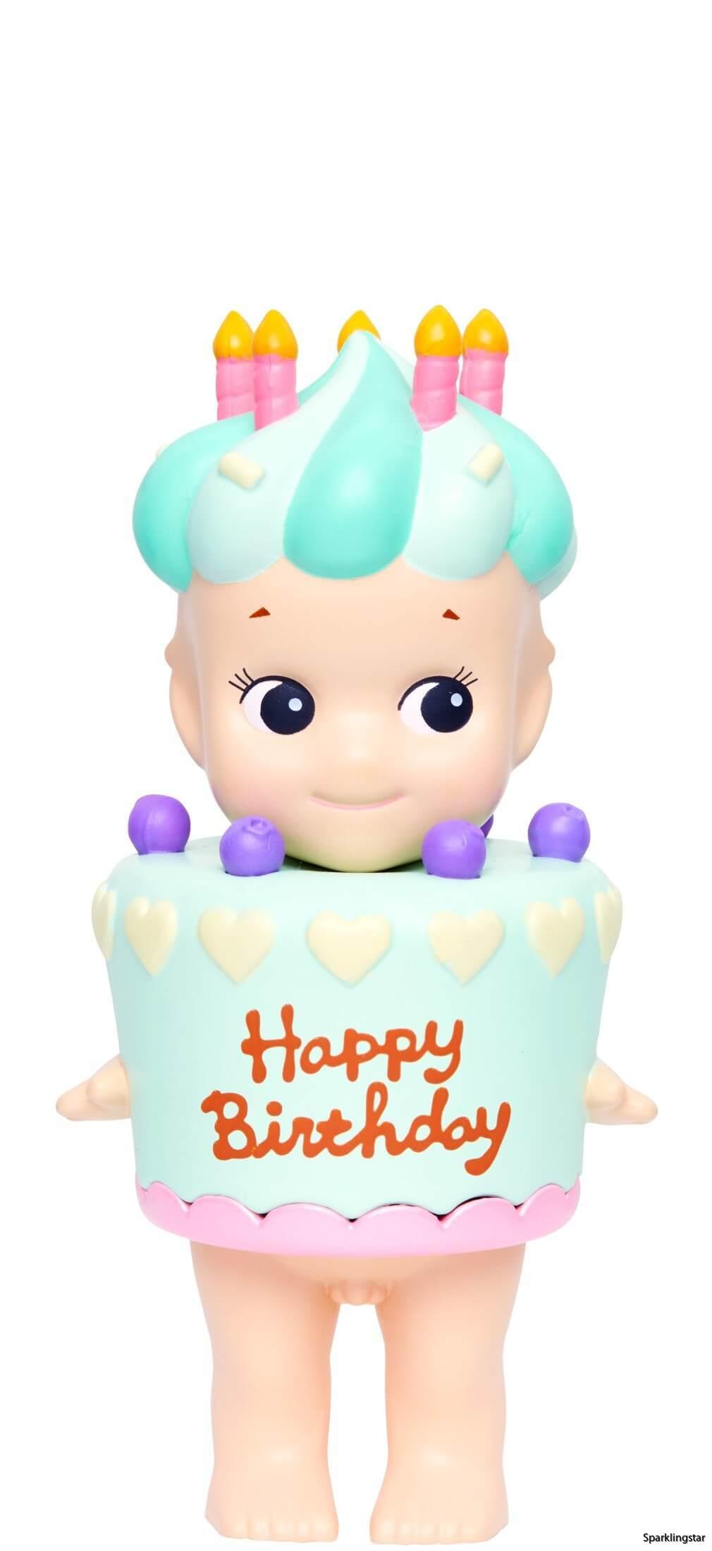 Sonny Angel Birth Day Gift Mint Cake