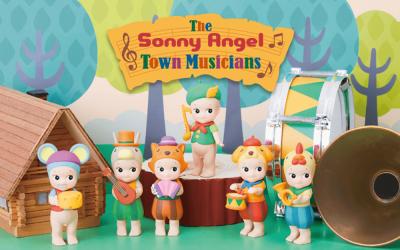 Sonny Angel Town Musicians Series - Sonny Angel Town Musicians Series ( Blindpack )