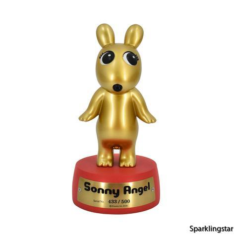 Sonny Angel Collector's Trophy Robbie Angel Gold