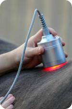 LED-ljusbehandling av ryggmuskel