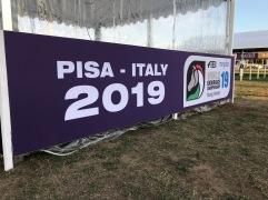 YR VM i Pisa, Italien 2019. Team Linnér