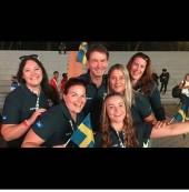 Team Linnér i Pisa, Italien. YR VM i Distansridning 2019