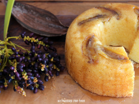 Manioc Breakfast Cake
