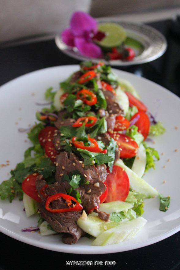 Spicy Beef Thai Salad
