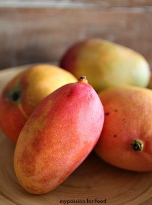 Mango Red Espadinha, Mango Haden, Pink Mango and Mango Tommy
