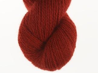 Rostig röd nr 14 50% angora / 50% merino - 7g