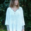 Poncho 100% angora - Stickpaket
