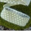 Dubbelstickad pannband 100% angora och 50/50 angora/merino - Stickpaket - Dubbelstickad pannband 100% angora och 50/50 angora/merino - Stickpaket
