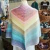 Sjal i glada färger - Stickpaket - Sjal i glada färger - Stickpaket