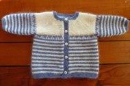 Babytröja 0-1år 50% angora / 50% lammull