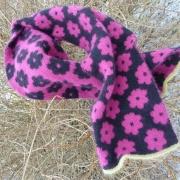 Stickpaket - Halsduk med blommor
