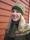 """""""Vildäpplet"""" jumper, mössa och halsduk. Foto S. Gustafsson."""