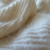 Angorasjal med skuggeffekt i silke - Stickpaket